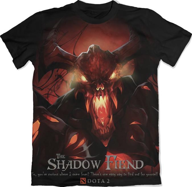 Shadow Fiend - Dota 2 tshirt kaos baju distro anime kartun jepang