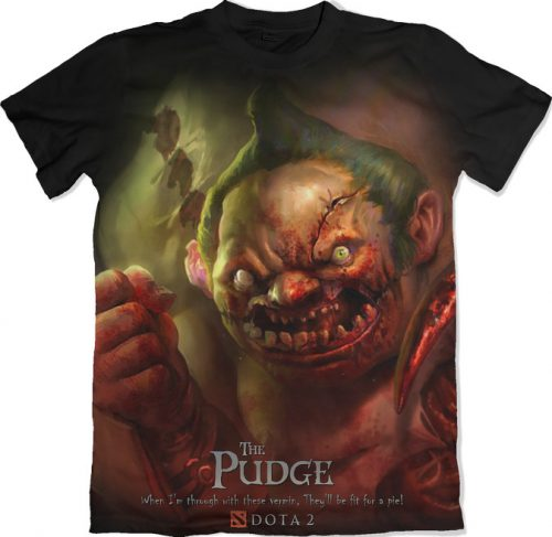 Pudge - Dota 2 tshirt kaos baju distro anime kartun jepang