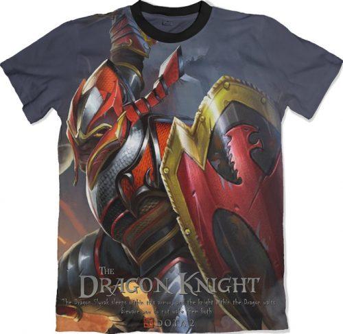 Dragon Knight - Dota 2 tshirt kaos baju distro anime kartun jepang
