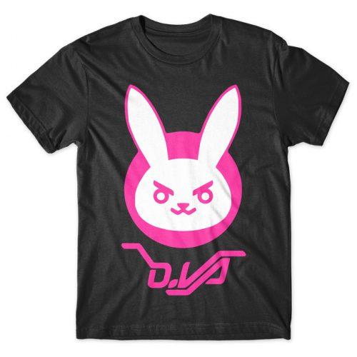 D.Va - Overwatch tshirt kaos baju distro anime kartun jepang