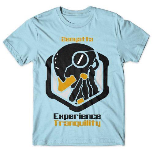 Zenyatta Experience Tranquility - Overwatch tshirt kaos baju distro anime kartun jepang