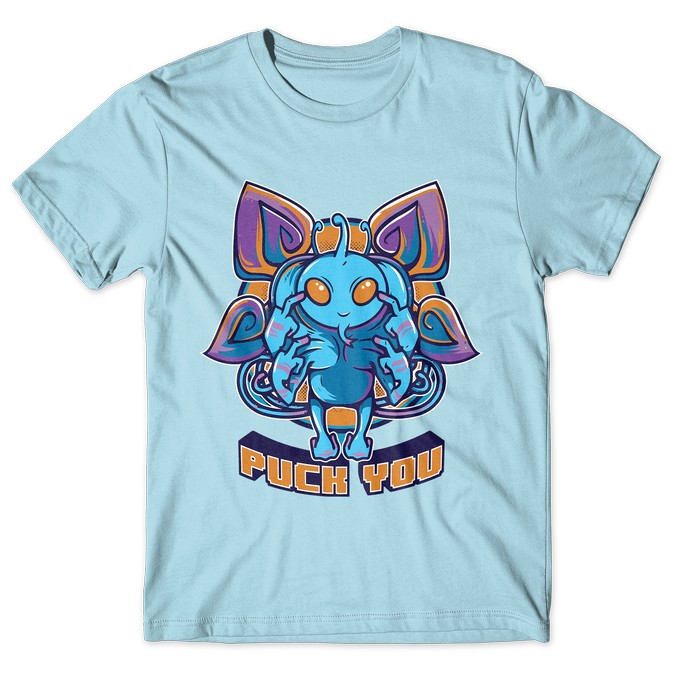 Puck You - Dota 2 tshirt kaos baju distro anime kartun jepang
