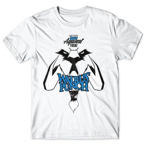 Tusk Walrus Punch - Dota 2 tshirt kaos baju distro anime kartun jepang