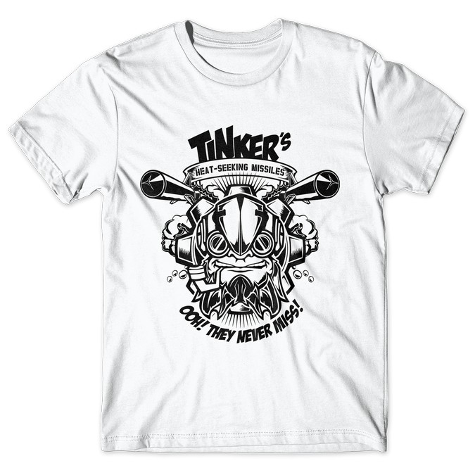 Tinker - Dota 2 tshirt kaos baju distro anime kartun jepang
