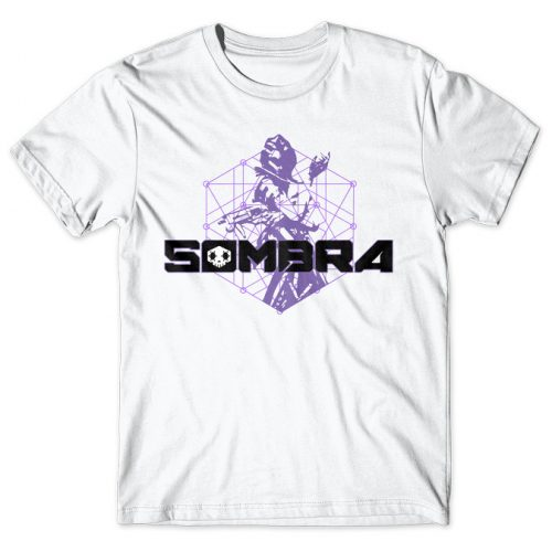 Sombra - Overwatch tshirt kaos baju distro anime kartun jepang