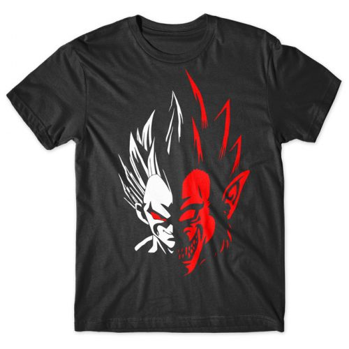 Vegeta - Dragon Ball tshirt kaos baju distro anime kartun jepang