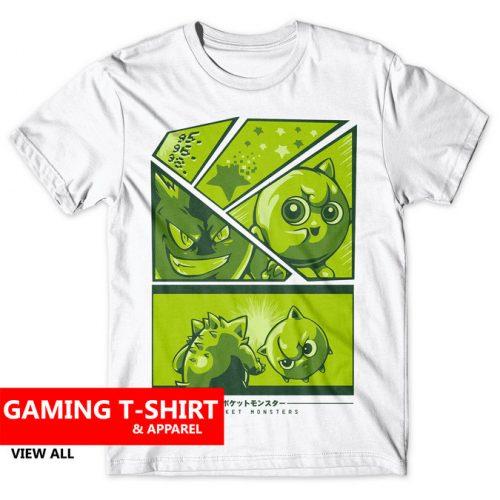 Gaming T-Shirts & Apparel